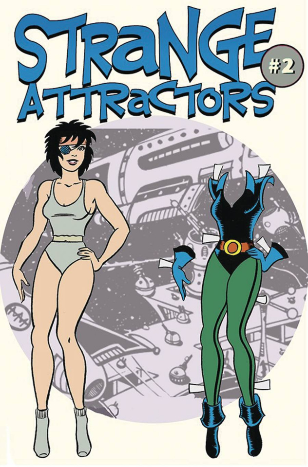 Strange Attractors #2 (Trina Robbins Cover)
