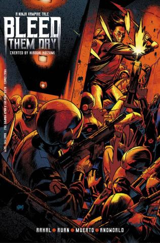 Bleed Them Dry #5 (Gorham Cover)