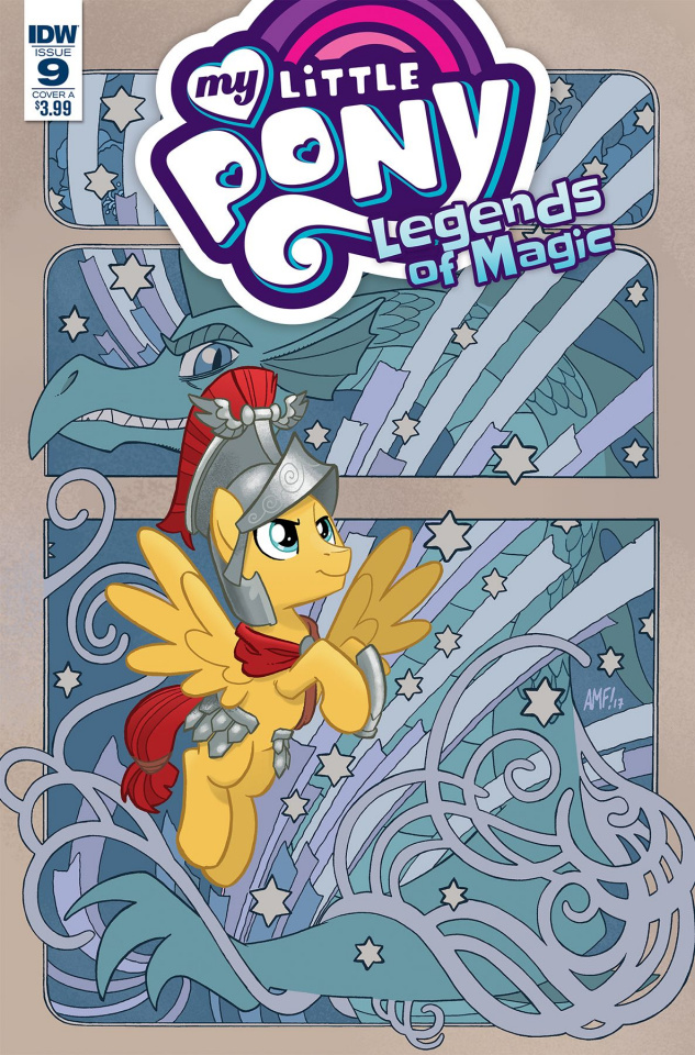 My Little Pony: Legends of Magic #9 (Fleecs Cover)
