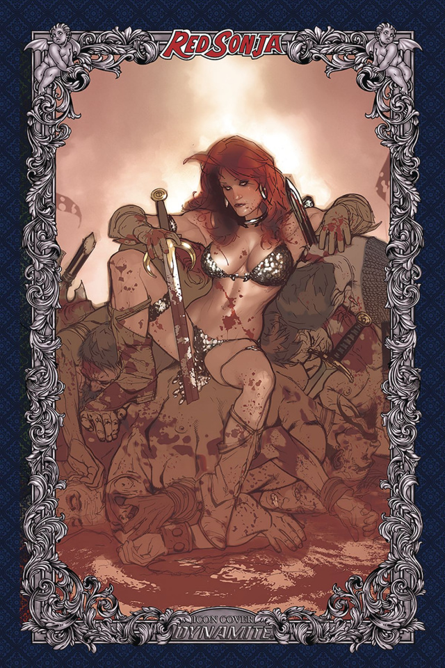 Red Sonja: Age of Chaos #3 (60 Copy Hughes Icon Cover)
