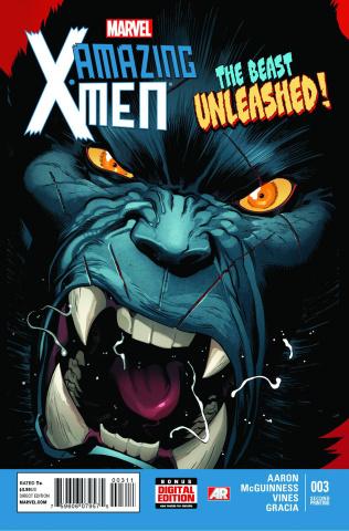 Amazing X-Men #3 (2nd Printing)