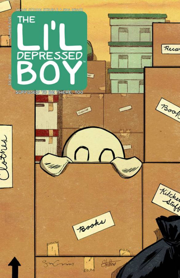 The Li'l Depressed Boy: Supposed To Be There, Too #5