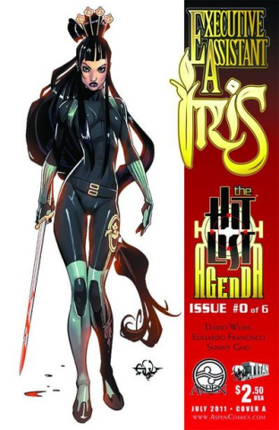 Executive Assistant Iris #0 (Francisco Cover)