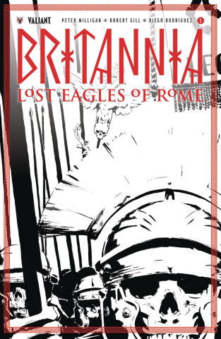 Britannia: Lost Eagles of Rome #1 (50 Copy Cover)