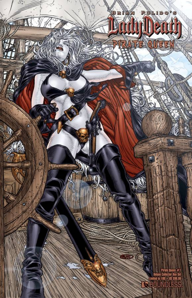 Lady Death: Pirate Queen #1