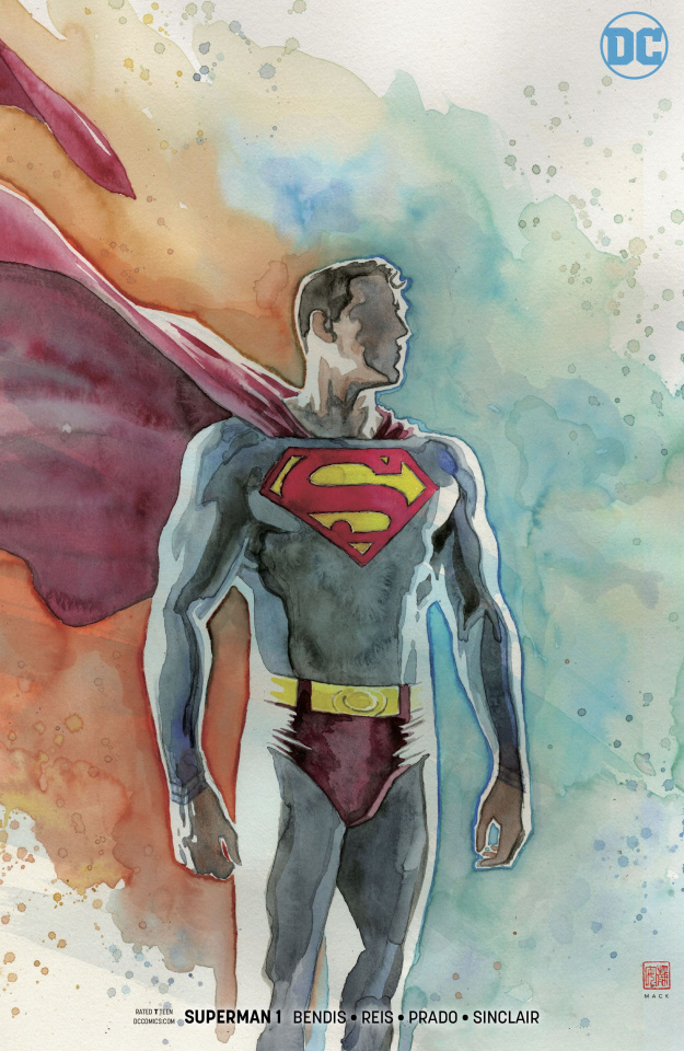 Superman #1 (Mack Variant Cover)