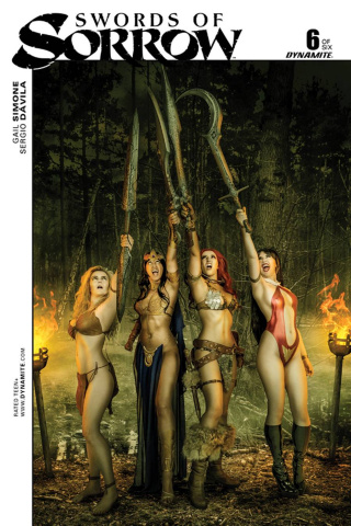 Swords of Sorrow #6 (Cosplay Cover)