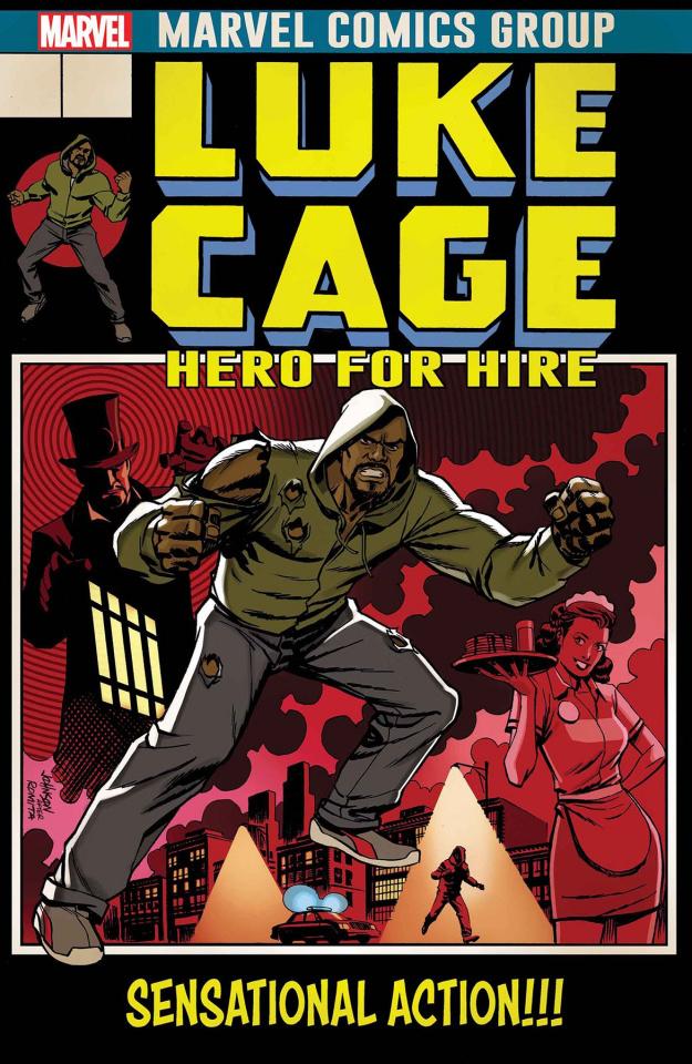 Luke Cage #166 (Johnson Cover)