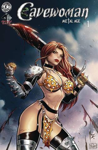 Cavewoman: Metal Age #1 (Izik Bell Cover)