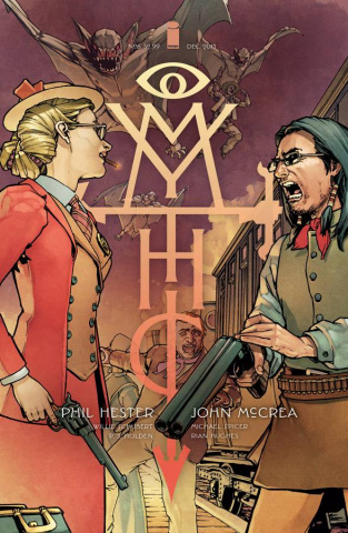 Mythic #6 (Ha Cover)