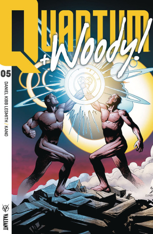 Quantum & Woody #5 (Ultra Foil Shaw Cover)