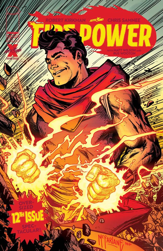 Fire Power #12 (McFarlane Cover)