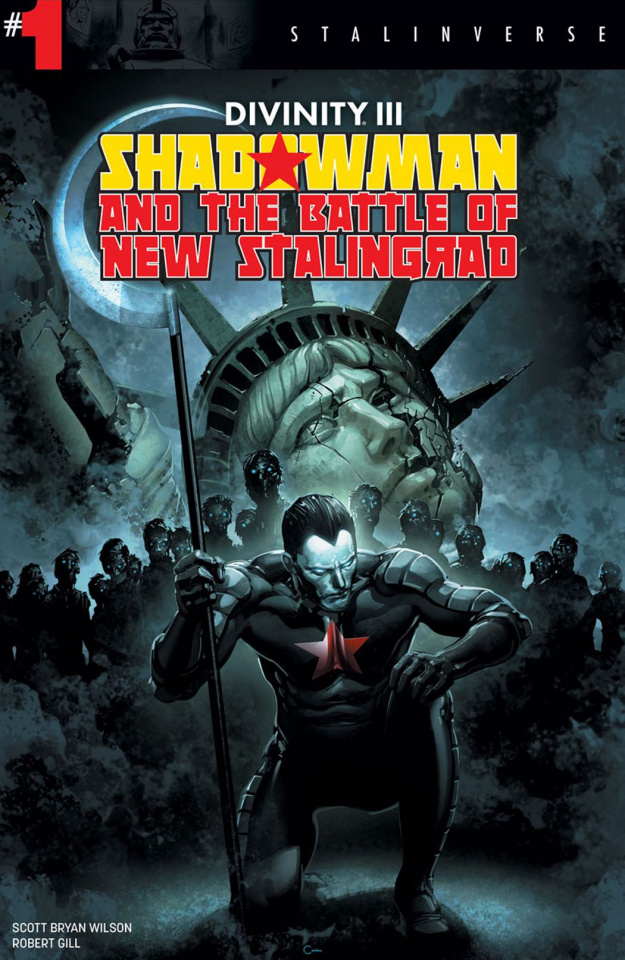 Divinity III: Shadowman #1 (Crain Cover)