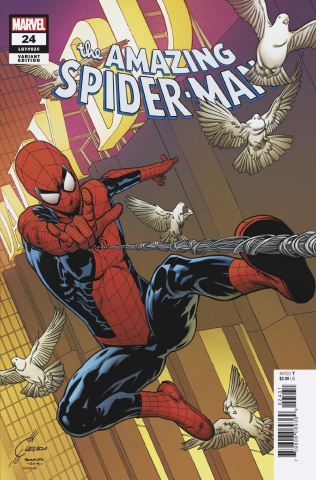 The Amazing Spider-Man #24 (Alex Ross Marvels 25th Anniversary Cover)