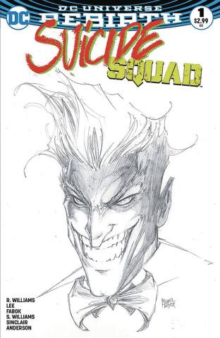 Suicide Squad #1 (Aspen B&W Set)
