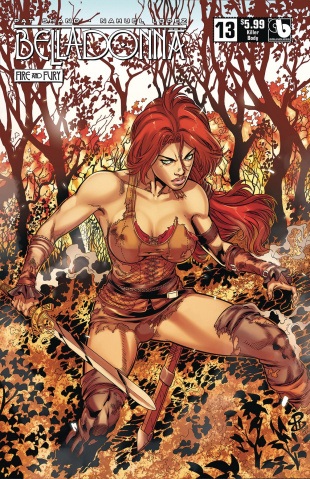 Belladonna: Fire and Fury #13 (Killer Body Cover)