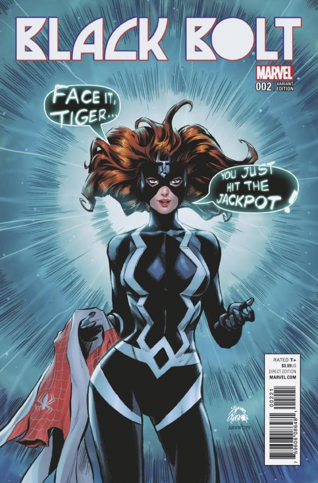 Black Bolt #2 (Stegman Mary Jane Cover)