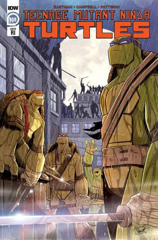 Teenage Mutant Ninja Turtles #108 (10 Copy Brooks Cover)