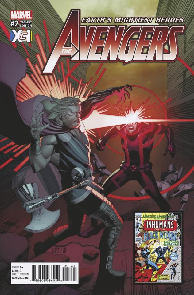 Avengers #2 (XcI Cover)