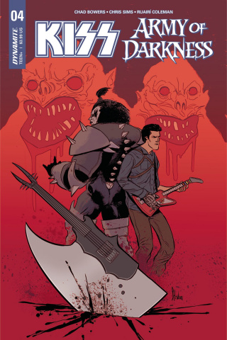 KISS / Army of Darkness #4 (Strahm Cover)