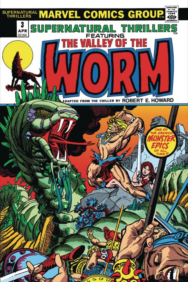 Conan: Serpent War #0: Valley of Worm (True Believers)