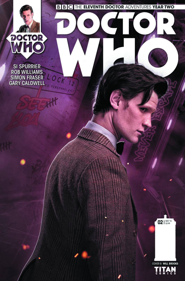 Doctor Who: New Adventures with the Eleventh Doctor, Year Two #3 (Subscription Photo Cover)