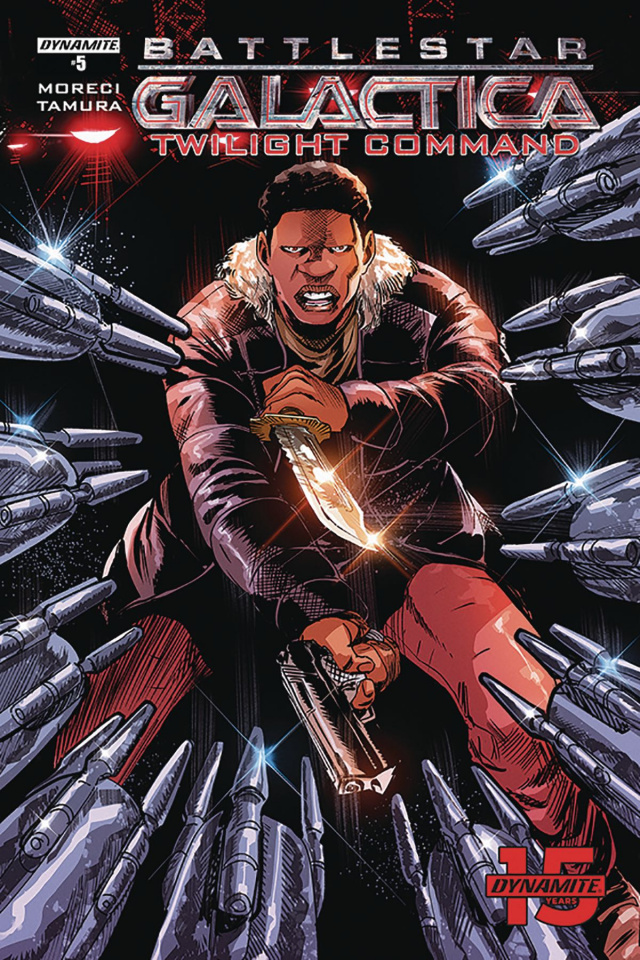 Battlestar Galactica: Twilight Command #5 (Tamura Cover)