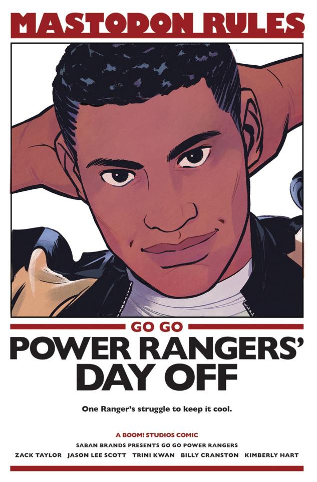 Go, Go, Power Rangers! #8 (25 Copy Bustos Cover)