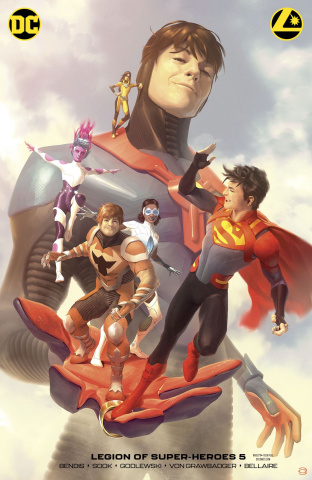 The Legion of Super Heroes #5 (Card Stock Alex Garner Cover)