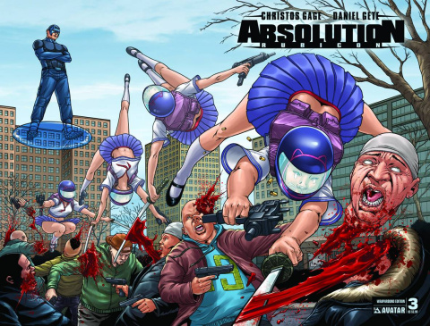 Absolution: Rubicon #3 (Wrap Cover)