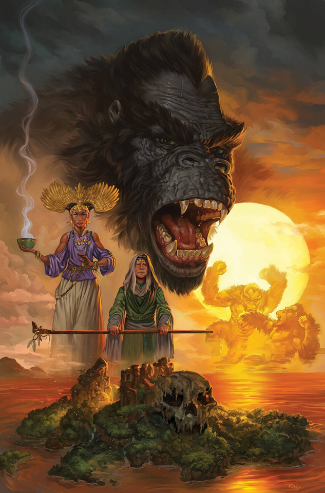 Kong of Skull Island #1 (19 Copy Robles Cover)