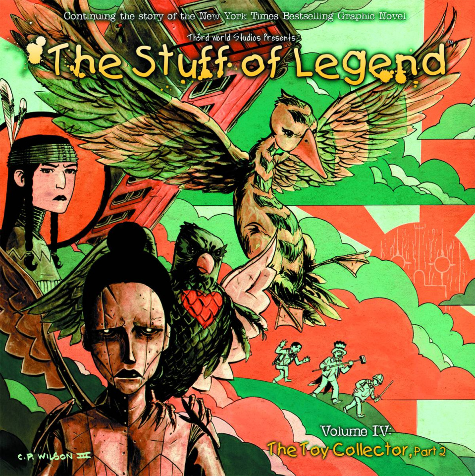The Stuff of Legend: The Toy Collector #2