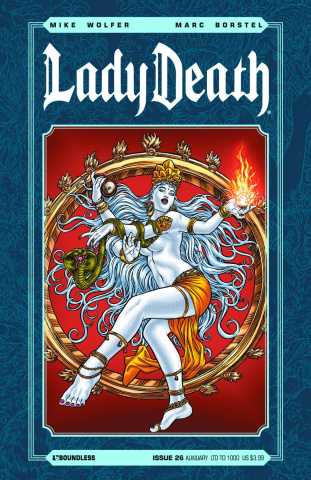 Lady Death #26 (Auxiliary Cover)