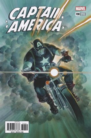 Captain America #700 (Alex Ross Cover)