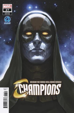 Champions #27 (Djurdjevic Fantastic Four Villains Cover)