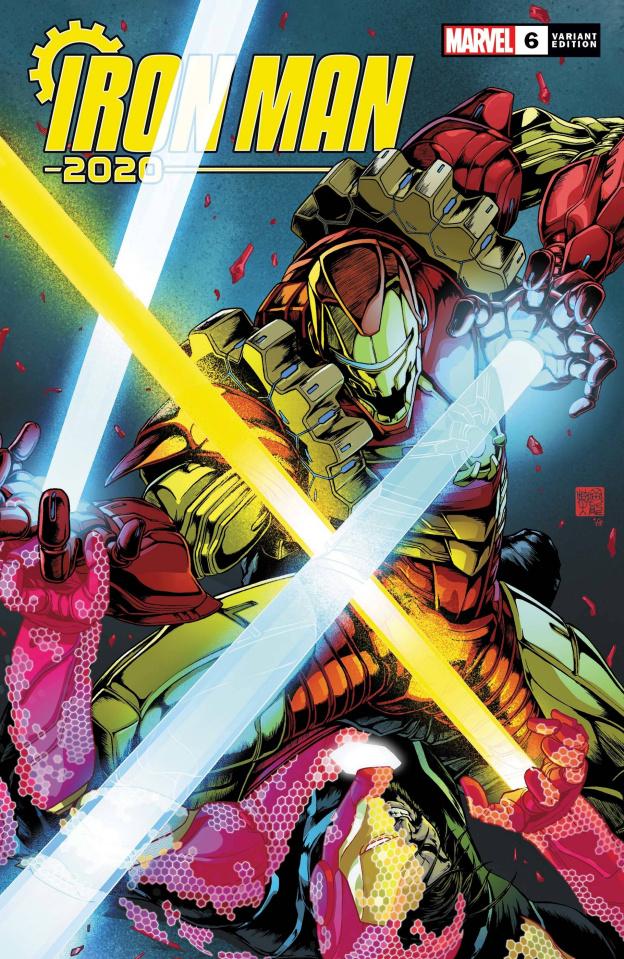 Iron Man 2020 #6 (Okazaki Cover)