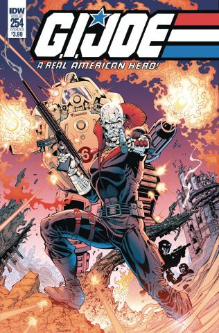 G.I. Joe: A Real American Hero #254 (Royle Cover)