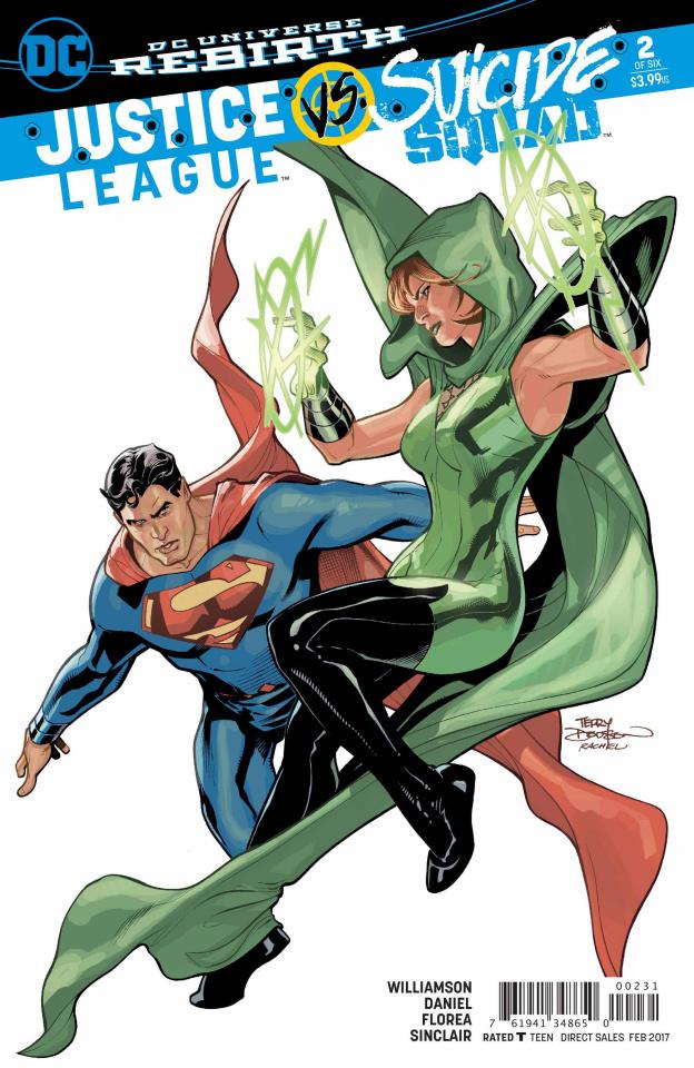Justice League vs. Suicide Squad #2 (Dodson Cover)