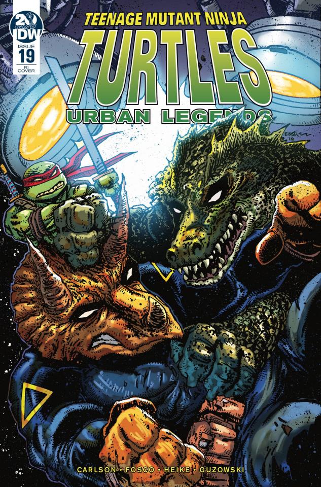 Teenage Mutant Ninja Turtles: Urban Legends #19 (10 Copy Eastman Cover)