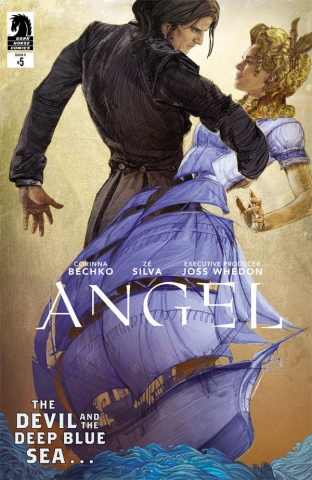 Angel, Season 11 #5 (Fischer Cover)