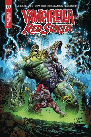 Vampirella / Red Sonja #7 (5 Copy Gedeon Zombie Cover)