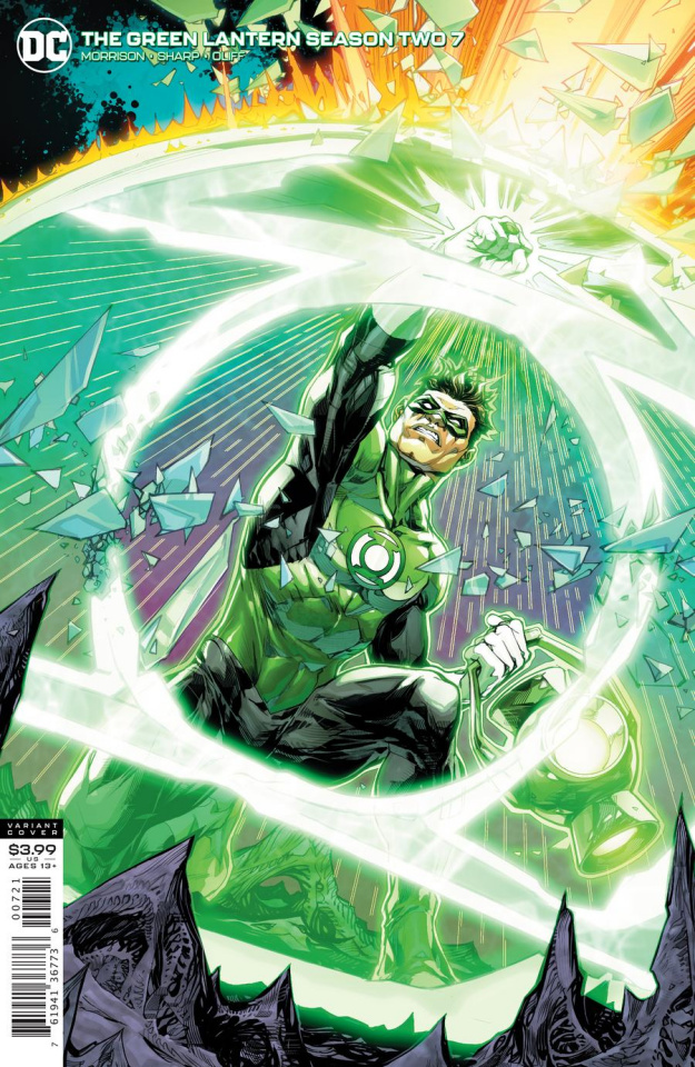 Green Lantern, Season 2 #7 (Howard Porter Cover)