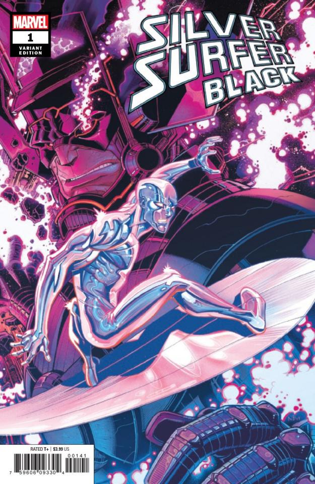 Silver Surfer: Black #1 (Bradshaw Cover)