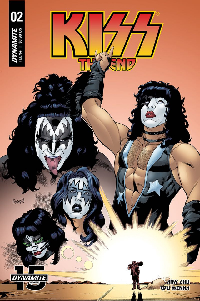 KISS: The End #2 (Coleman Cover)
