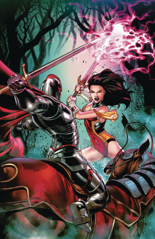 Grimm Fairy Tales #19 (Chen Cover)