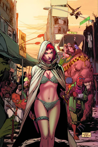 Altered States: Red Sonja (Rare Tan Virgin Cover)