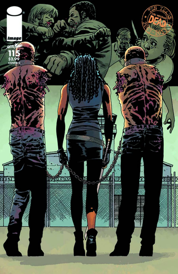 The Walking Dead #115 (Cover C)