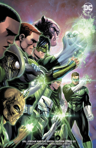 Hal Jordan and the Green Lantern Corps #50 (Variant Cover)