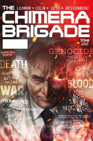 The Chimera Brigade #2 (Burns Cover)
