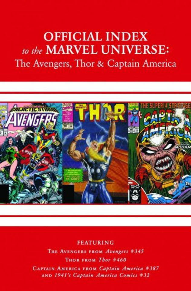 The Official Index to the Marvel Universe #10